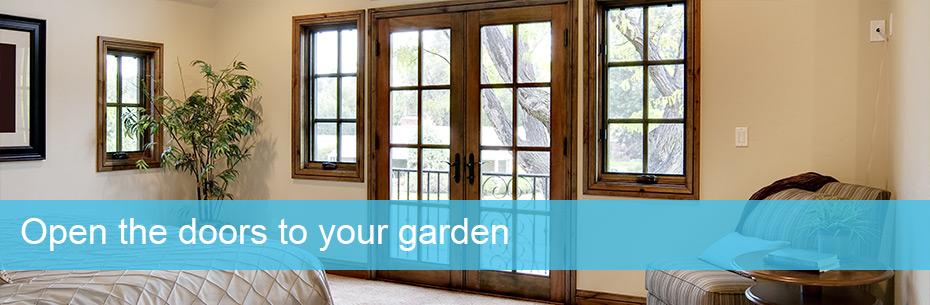 Open the doors to your garden
